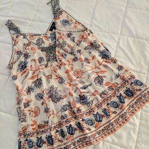 NWT Jessica Simpson Floral Dressy Tank